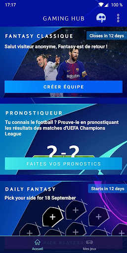 UEFA Champions League - Jeux  captures d'écran 2
