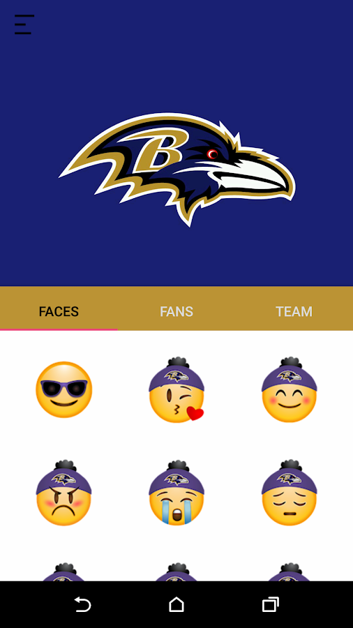 Baltimore Ravens Stickers- screenshot