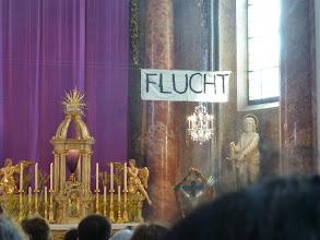 Photo: Die Passion nach Markus mit den Schwerpunkten - Flucht