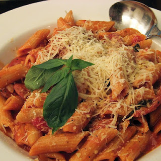 Italian Sausage and Penne Pasta.