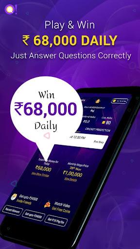 Qureka: Live Trivia Game Show & Win Cash 2.0.6 Cheat screenshots 2