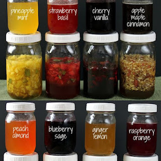Fruit & Herb Honey Syrups.