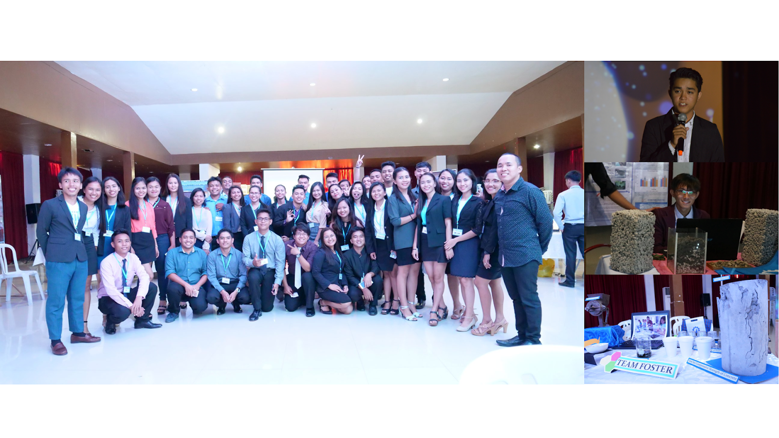 CAREER OPP. Pioneering batch class moment with their meteorology instructor, Mr. Charlindo S. Torrion.