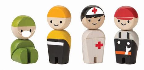 Plan Toys Rescue Crue