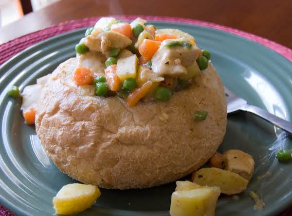 Bread Bowl Chicken Stew Recipe