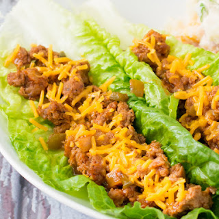 BBQ Turkey Lettuce Wraps