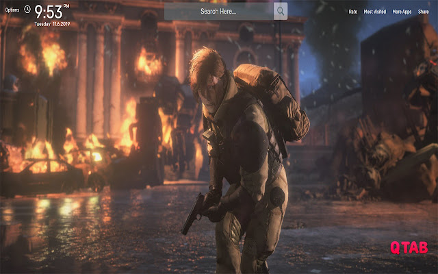 Left Alive Wallpapers HD Theme
