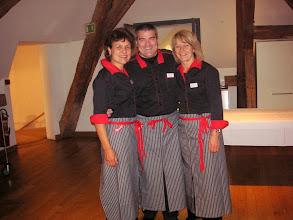 Photo: Die Service-Mannschaft