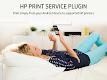 screenshot of HP Print Service Plugin