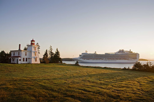 Crown Princess calls on Charlottetown, capital and largest city of the Canadian province of Prince Edward Island.
