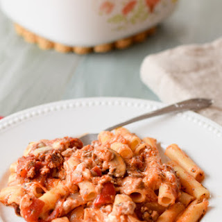 The Best Baked Beef Ziti.