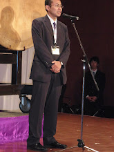Photo: 賛助会員代表のもう一人は株式会社ヨシダの山中一剛社長