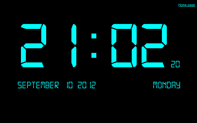 Digital Clock CE 7