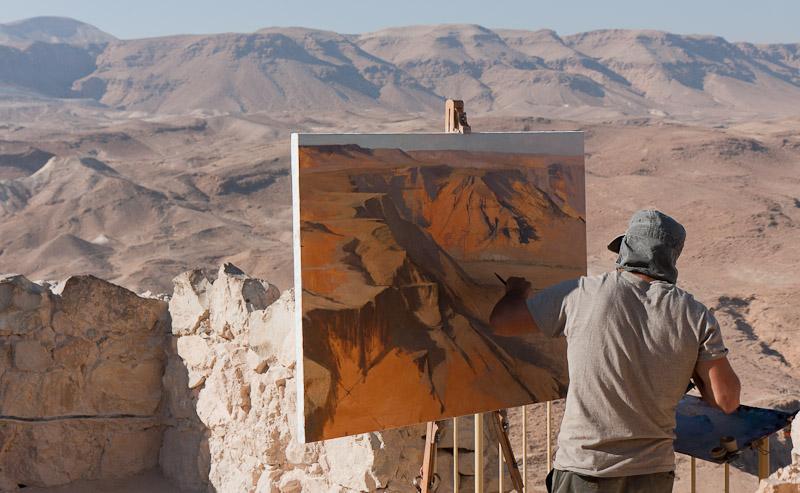 Photo: Masada, Israel