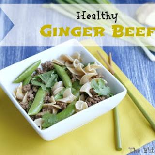 Healthy Ginger Beef