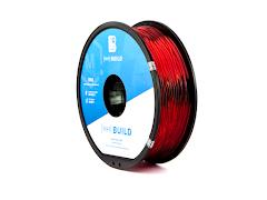 Translucent Red MH Build Series TPU Flexible Filament - 3.00mm (1kg)