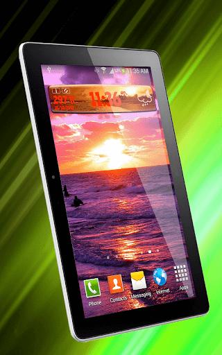 無料个人化Appのサンセット天気時計ウィジェット|記事Game