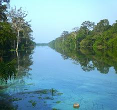 Photo: Moat around Angkor Thom