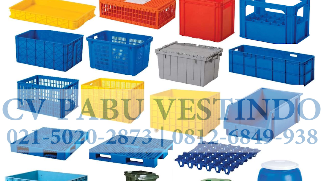 Pavest Plastik Container Plastik Box Container Plastik