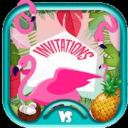 Flamingo Invitations