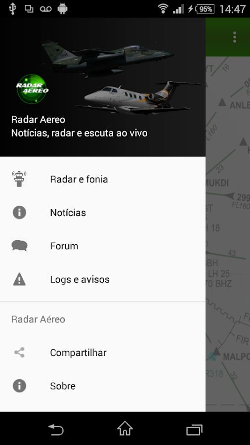 Radar Aéreo- screenshot