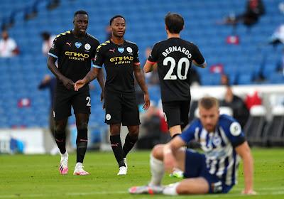 Manchester City et Sterling roulent sur Brighton