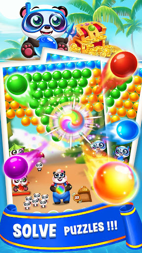 Bubble Shooter Sweet Panda apktreat screenshots 1