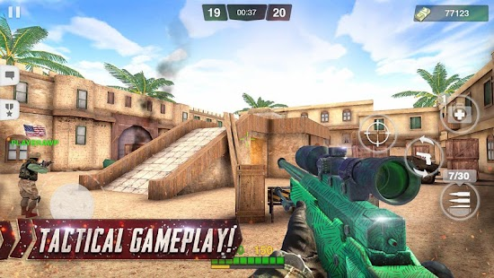 Critical Battle Strike: Online FPS Arena Shooter- screenshot thumbnail