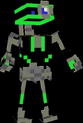 скины майнкрафта робот #5