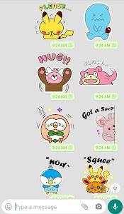 Cute Stickers for Whatsapp - WAStickersApps 4.8.28