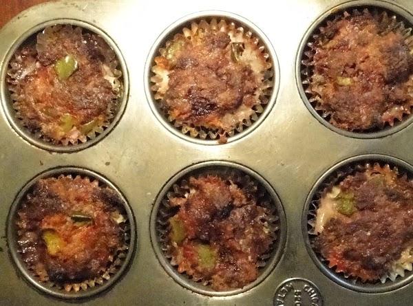 Teacherman's Meat Loaf Cups Recipe