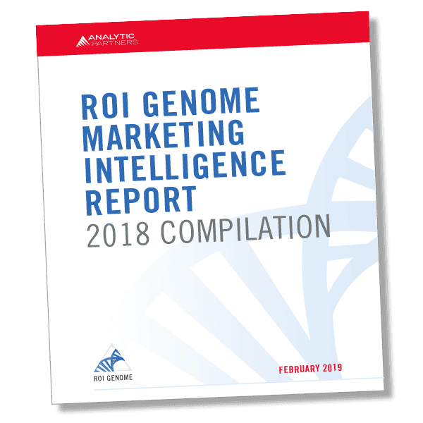 ROI Genome Marketing Intelligence Report 2018 Compilation: What Drives Marketing ROI?