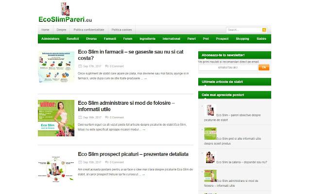 EcoSlimPareri si reviewuri