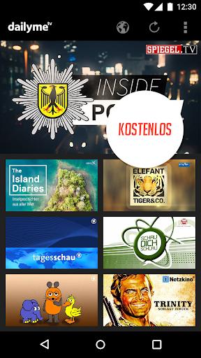 dailyme TV, Serien, Filme & Fernsehen TV Mediathek 20.05.02 screenshots 3