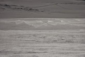 Kuva: Tuulen tekemää taidetta tunturin pinnassa