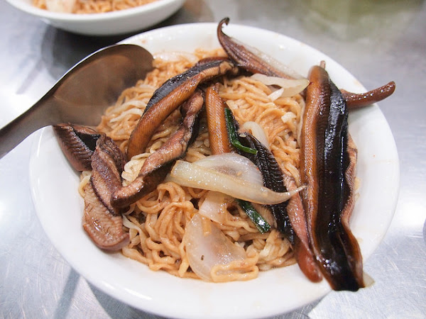 台南 南區–在地人鱔魚意麵–眼鏡仔鱔魚意麵