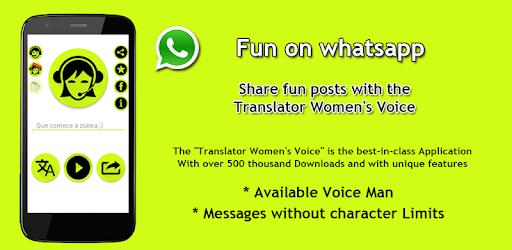 Translator Women's Voice for PC