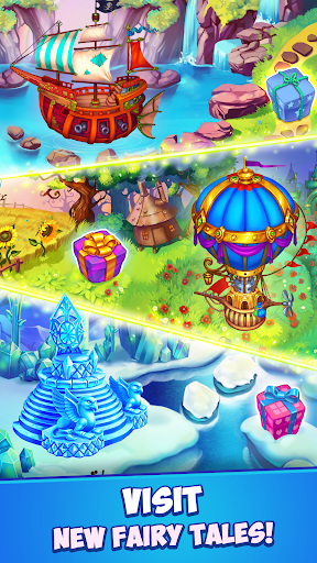 Fancy Blast: Puzzle in Fairy Tales 2.5.1 screenshots 6
