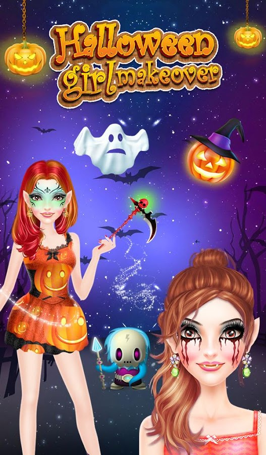 Halloween Girl Makeover- screenshot