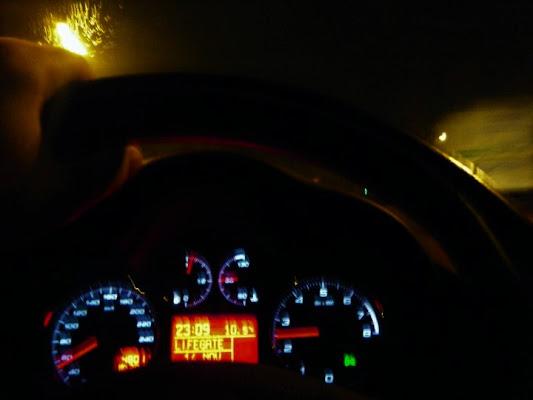viaggio notturno  di Tiz
