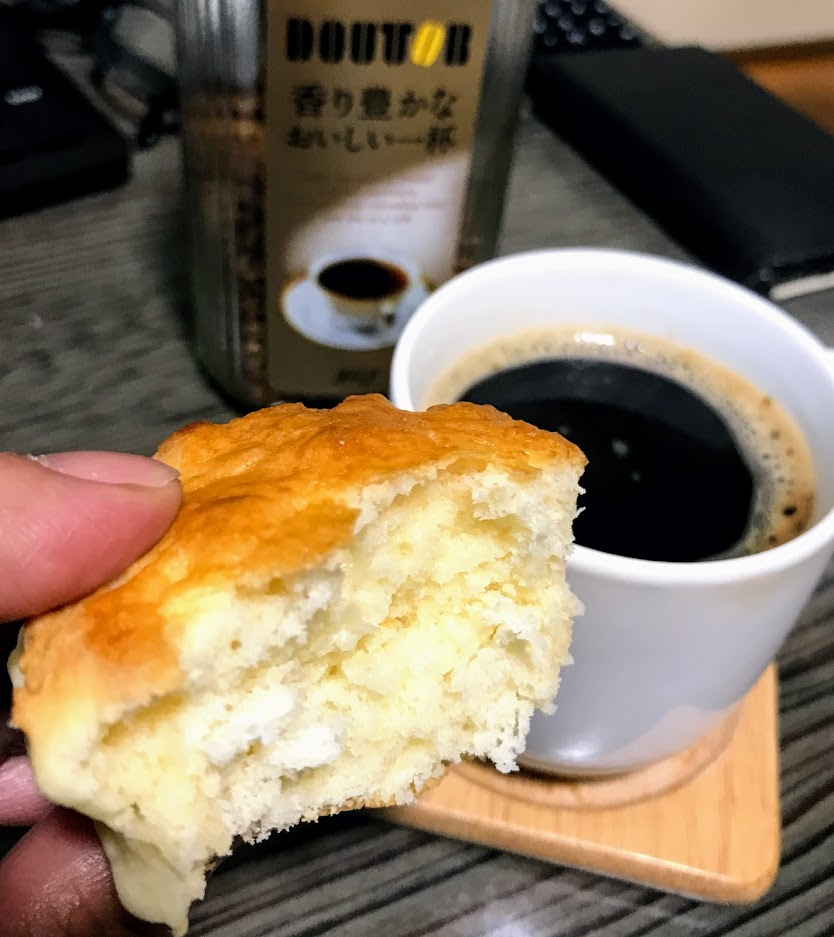 ドトールコーヒーとスコーン
