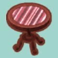 ショコラトリーのテーブル