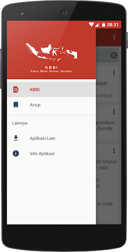 KBBI 1.1.7 screenshots 2