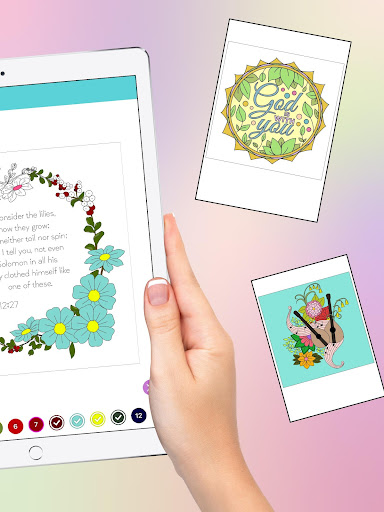 Bible Coloring - Bible Color by Number, Bible Game 20.0 screenshots 10
