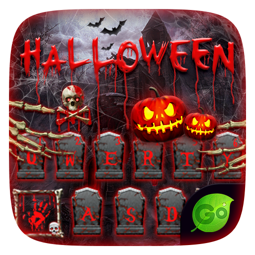 Halloween Keyboard Theme Emoji 個人化 App LOGO-硬是要APP