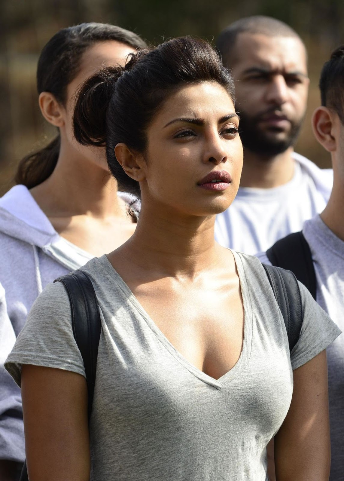 Priyanka Chopra Quatico hot captures