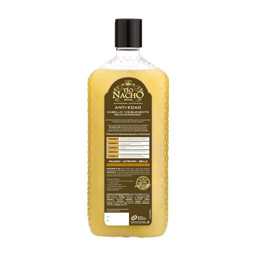 Tio Nacho Shampoo Capilar Antiedad Nutricion Brillo Jalea Real