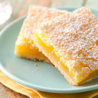 Luscious Lemon Squares Recipe
