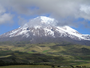Photo: Chimborazo 6300 m, versant Urbina