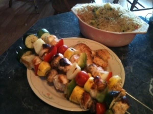 Grilled Chicken Kabobs Recipe